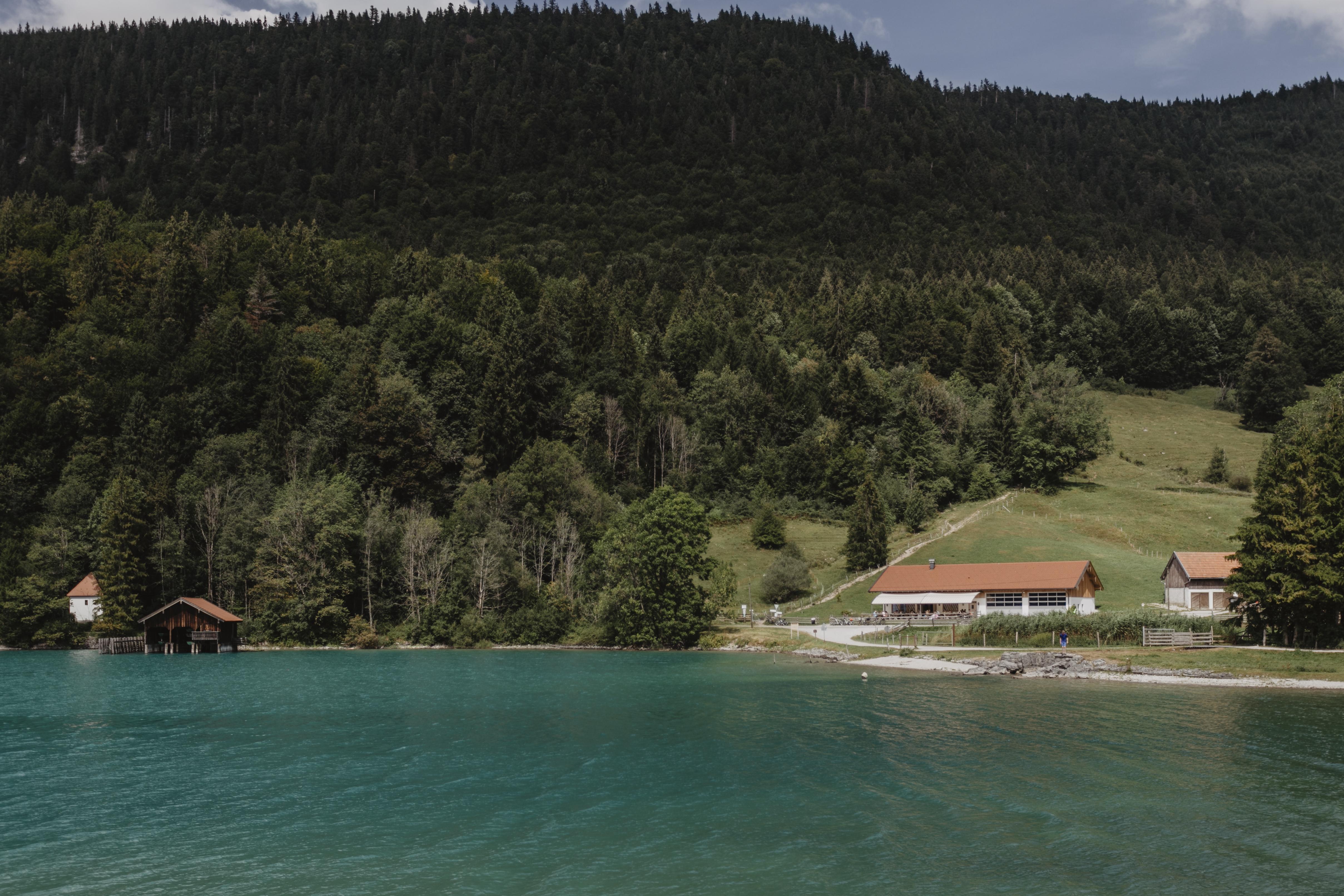 Sommer am Walchensee Sachenbacher