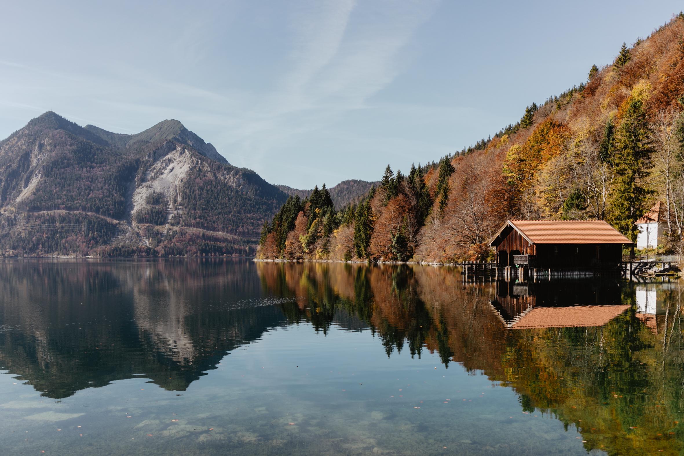 Walchensee Herbst