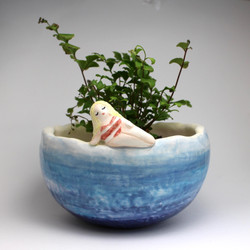 BY THE OCEAN PLANT POT