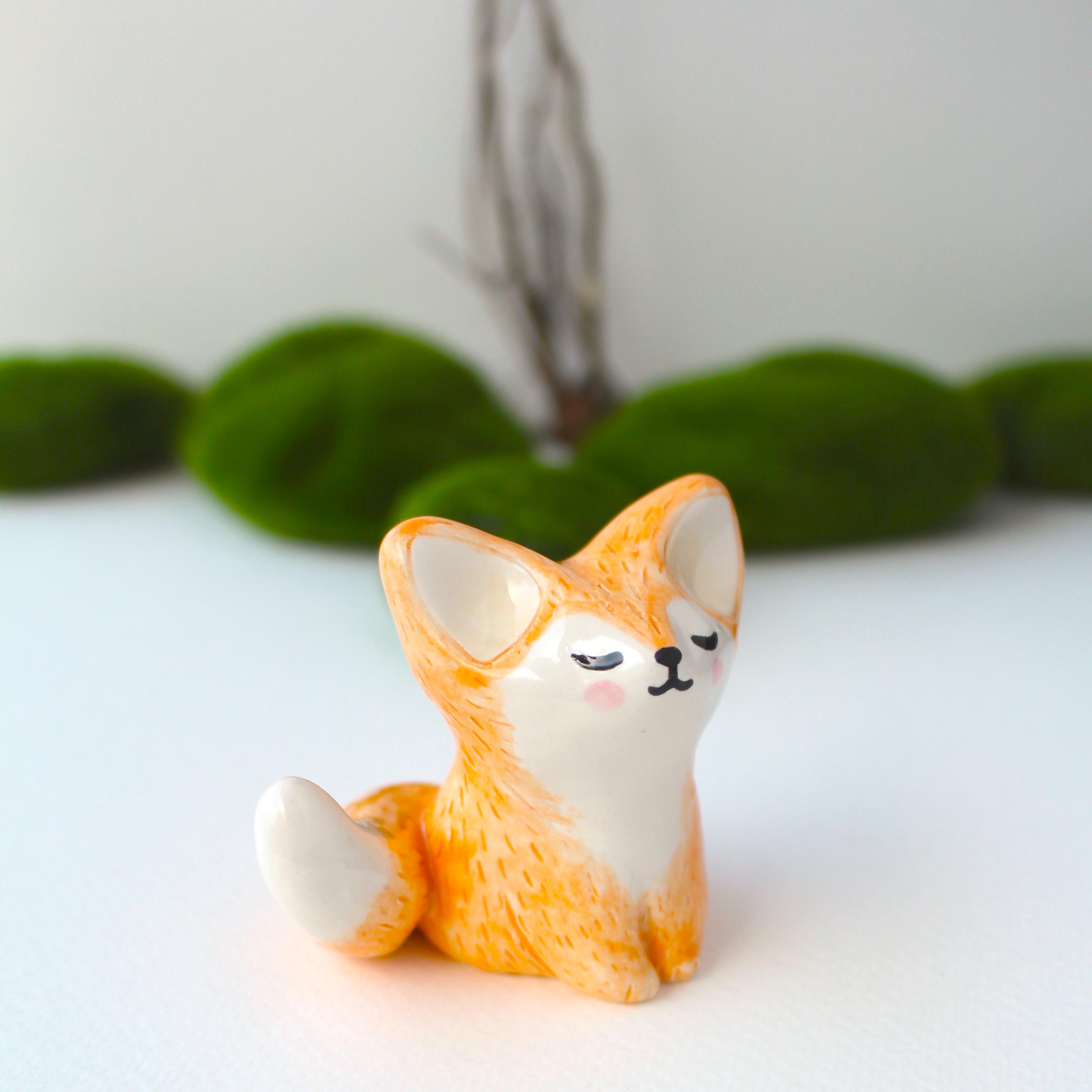 FOX CUB CAKE TOPPER