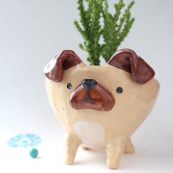 DOG PLANTPOT