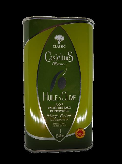 Huile d'olive des Baux de Provence, bidon 1L
