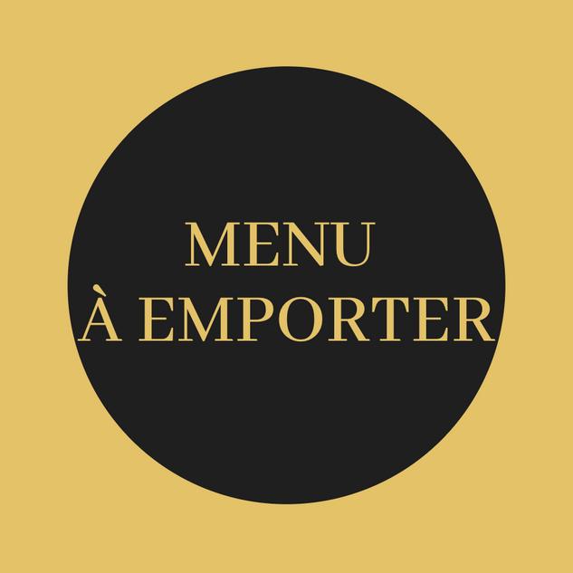 menu à emporter didier clément