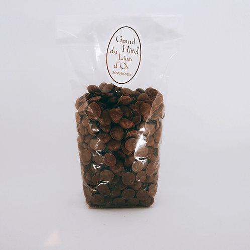 Chocolat Lait Pistoles - 100g