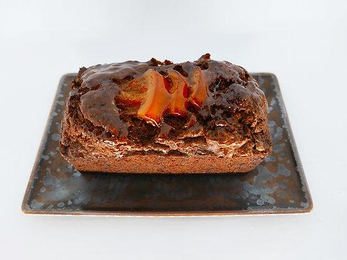 Cake au Chocolat et Oranges confites