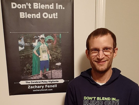 Zachary Fenell on Living With Cerebral Palsy