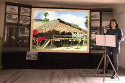 Maison bambou inde