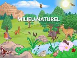 Animation milieu naturel