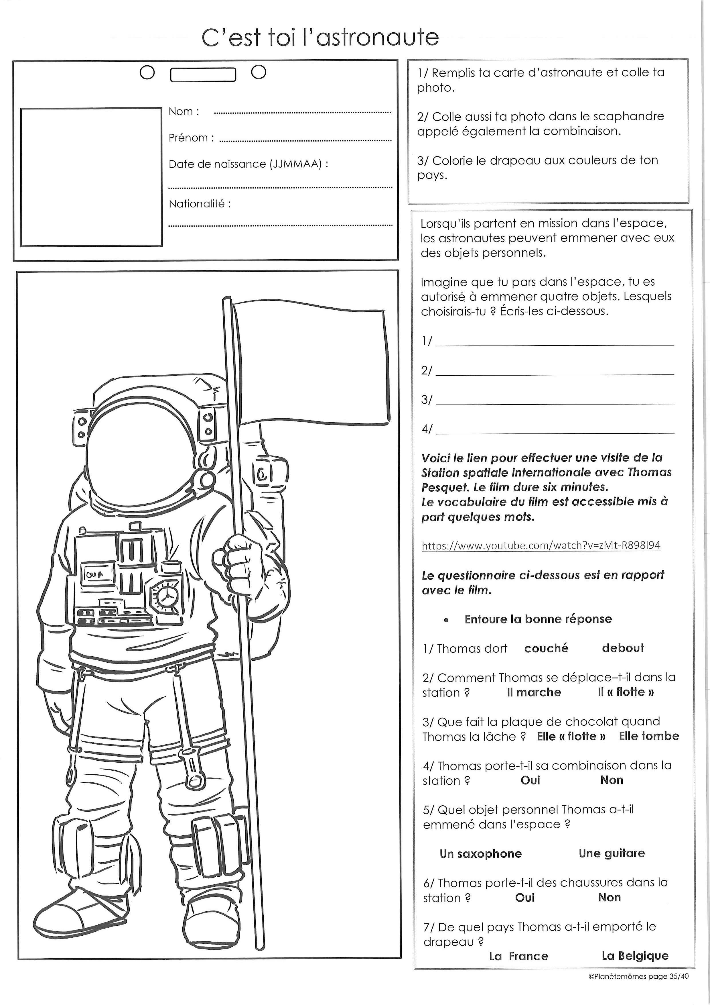 page 35 astronaute