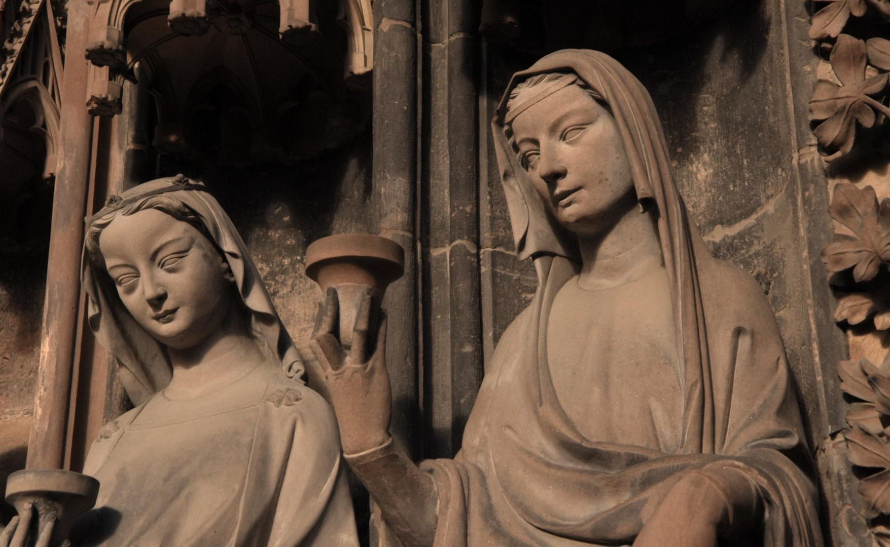 Moyen-Age Cathédrale gothique