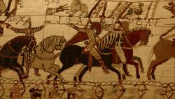 Moyen-Age Tapisserie de Bayeux