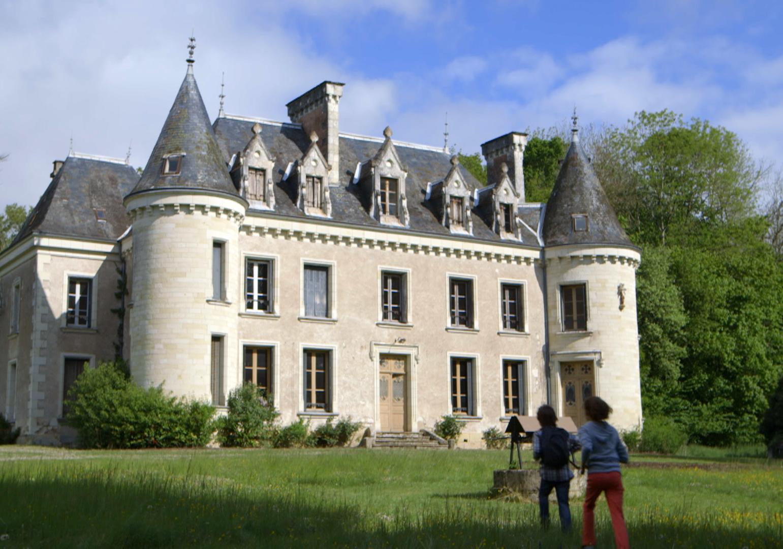 Chateau-arrivée