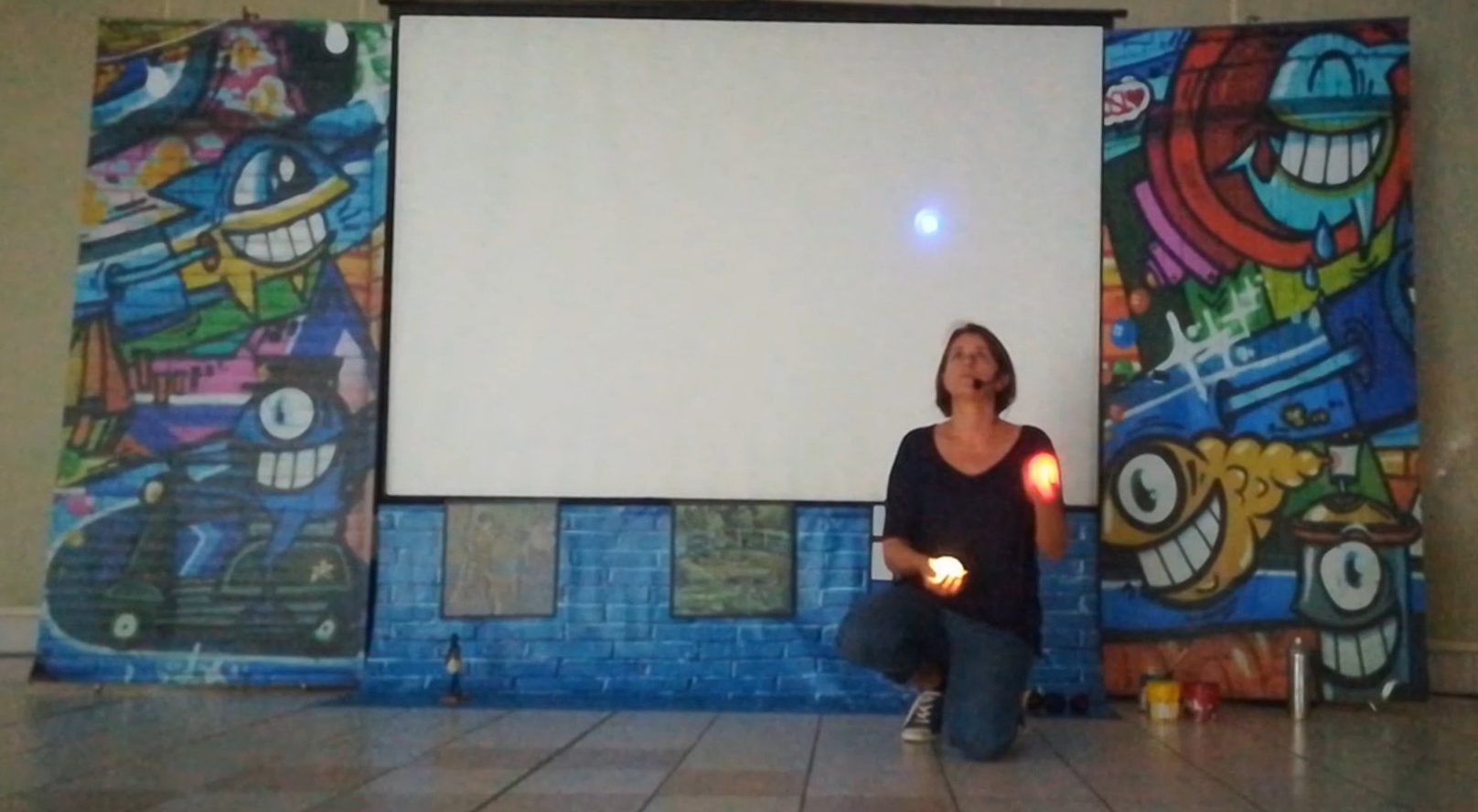 jonglage lumiere