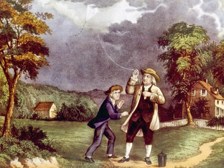 Electricite Benjamin Franklin