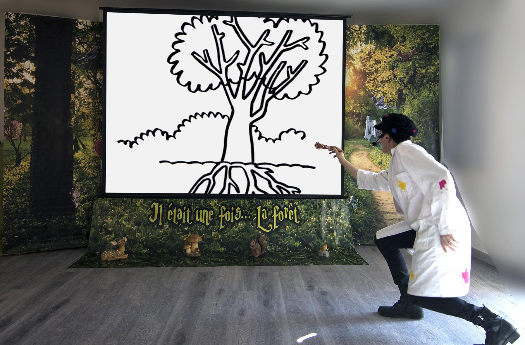dessiner arbre