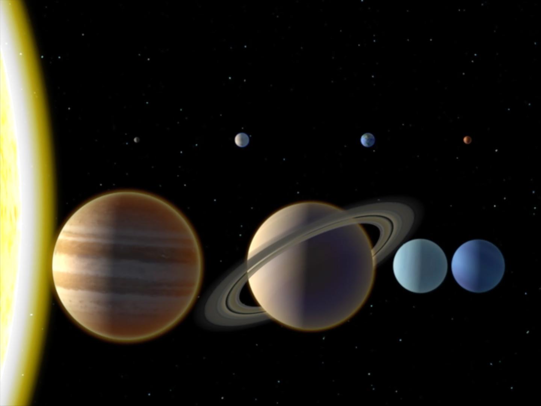 8 planetes