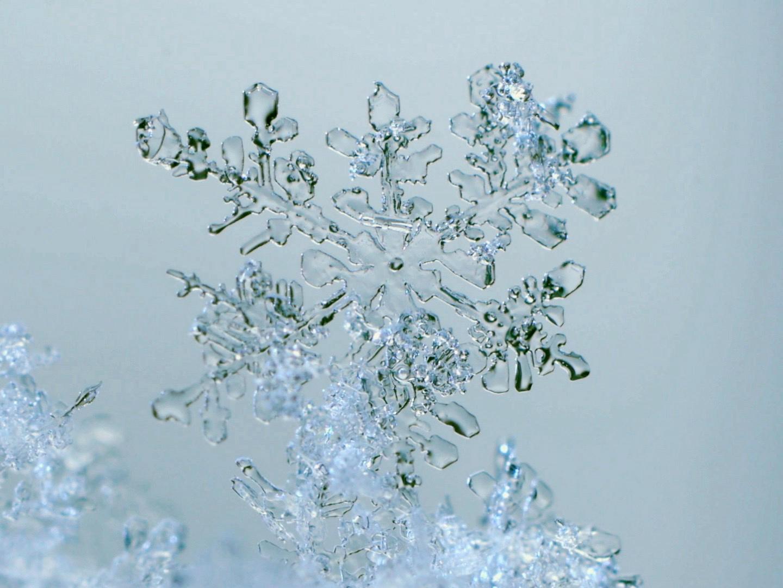 Glace cristaux