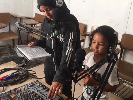 97.3 Radio Zaatari - The Voice of Zaatari Village