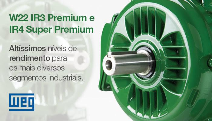 Linha W22 WEG IR4 Premium