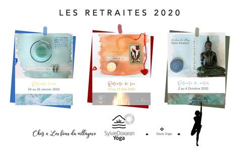 Retraites de Yoga en 2020