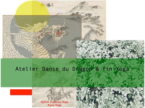 Atelier Danse du Dragon sur Paris en Avril