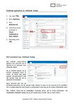 Outlook opstarten in Outlook Today