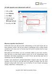 Zet alle signalen voor inkomende e-mails af