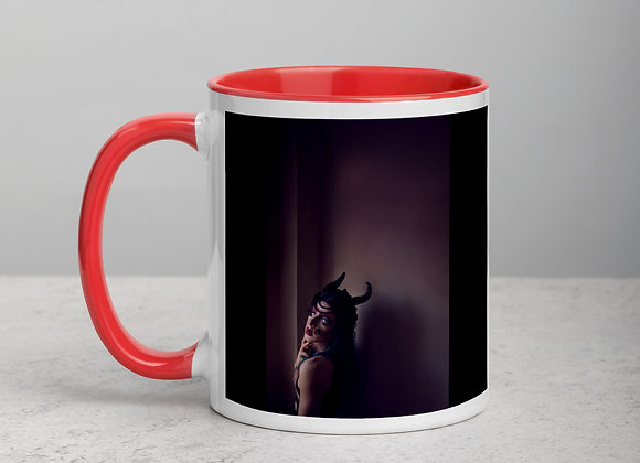 DragQueen - I WILL NOT DO IT AGAIN - Mug with Color Inside