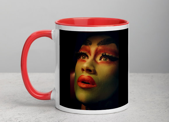 DragQueen - QUEEN OF DRAMA - Mug with Color Inside