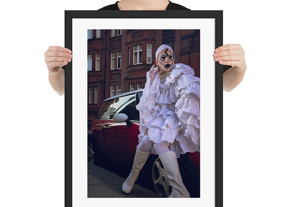 DragQueen - MINI GLAM - Framed poster