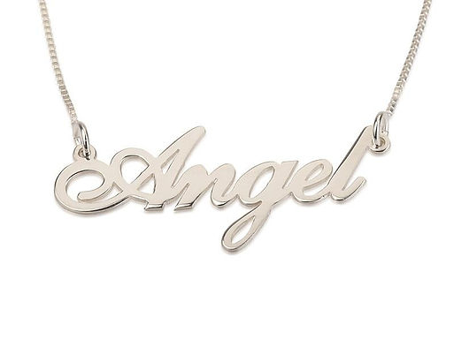 Name Necklace - Sterling Silver