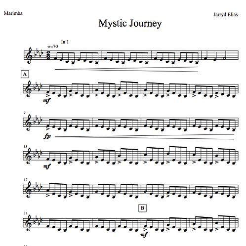 Mystic Journey (2015) - Marimba Solo