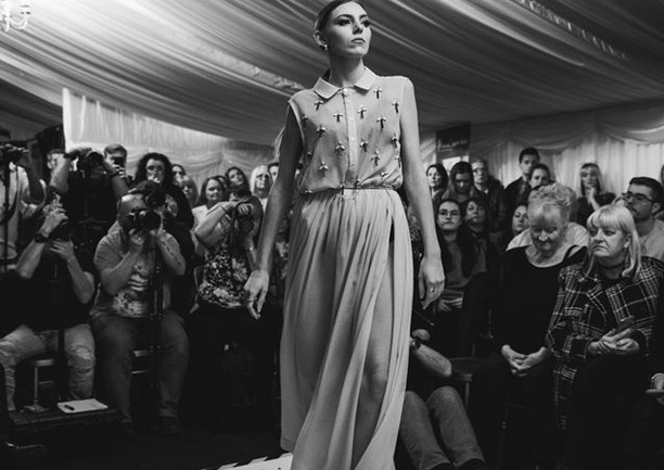 Rose Corps charity fashion show for mental health organization Mind
