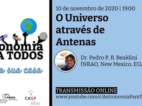 Palestra: O Universo Através de Antenas - IAG/USP