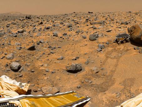 Há 20 anos em Marte
