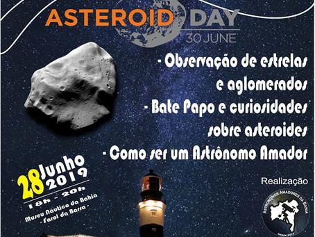 Sugestão de evento: Sexta da Astronomia em Salvador