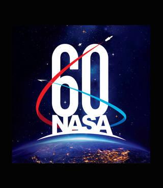 Logomarca 60 anos da NASA