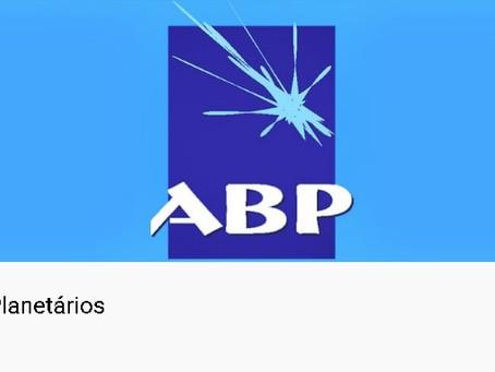 SESSÃO VIRTUAL DE PLANETÁRIO - ABP