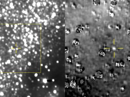 New Horizons faz primeira imagem de Ultima Thule
