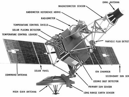 Mariner 2, aproximou-se de Vênus há 55 anos