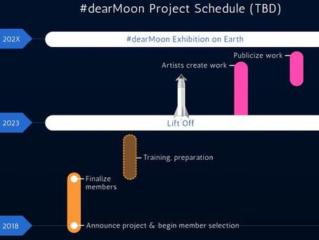 #dearMoon levará artistas para dar a volta à Lua