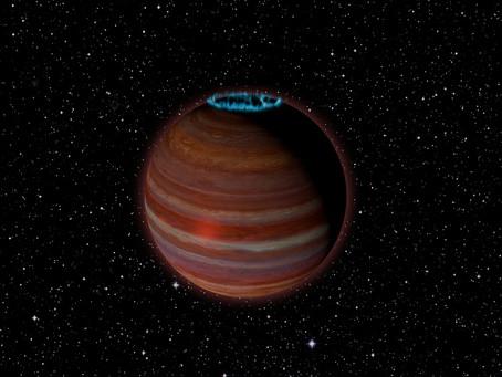 Radiotelescópio VLA detecta planeta extrassolar