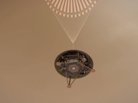 A chegada da InSight em Marte