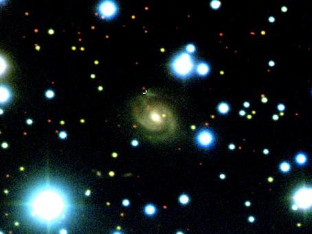 Identificada galáxia espiral fonte repetitiva de FRB