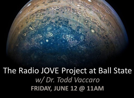 Radio JOVE em transmissão da Ball State University