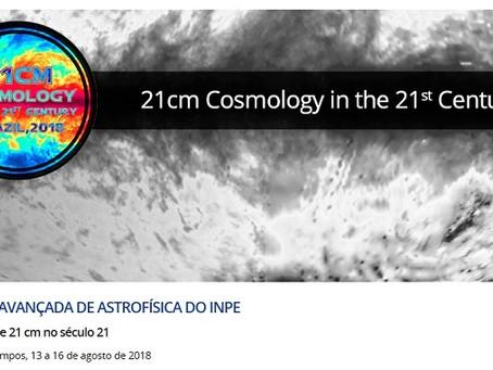 6º Curso Avançado do INPE: Cosmologia de 21 cm no século 21
