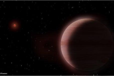 Exoplaneta descoberto com radiotelescópios