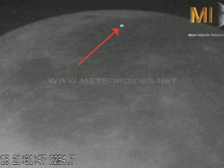 Impactos na Lua