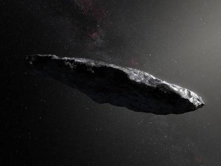 Será Oumuamua um artefato alienígena?