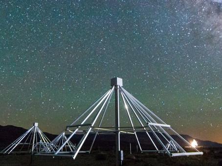 Rajadas de rádio do Sol com o observatório OVRO-LWA